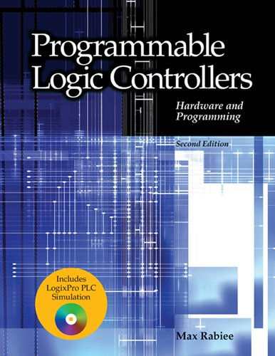 Programmable Logic Controllers Textbook w/ PLC Stimulation Software