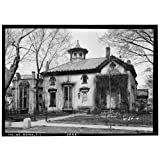 Historic Photo Dr. David Dale Owen House, New Harmony, Indiana