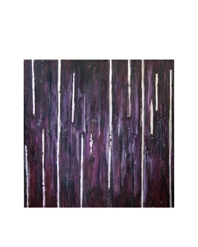 Red Label Cinithyia Reed Purple Rain Oil Painting