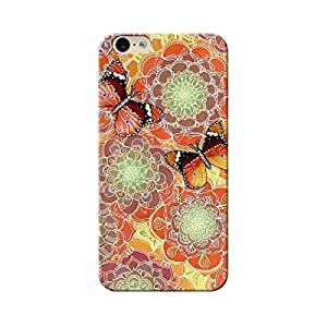 EYP Butterflies Pattern Back Cover Case for Apple iPhone 6 Plus