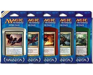 MTG Magic Return to Ravnica RTR Intro Pack Deck Set of 5