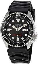 Comprar Seiko SKX007K1 - Reloj analógico automático para hombre, correa de caucho color negro