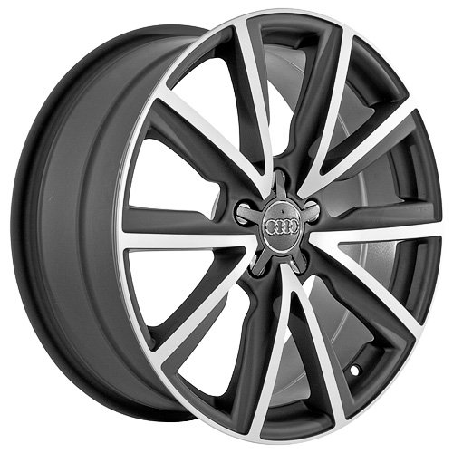 519W1M7EjZL 19 Inch Audi Wheels Rims Black (set of 4)