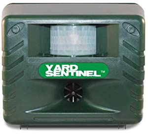 Yard Sentinel - Electronic Pest & Animal Control Repeller with Motion Sensor from Aspectek