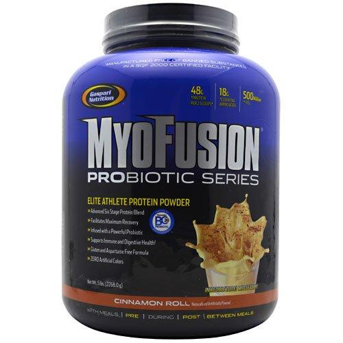 Myofusion Probiotic Series - Cinnamon Roll Gaspari Nutrition 5 Lb Powder