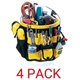 CLC Custom Leathercraft 4122 In & Out Bucket (61 Pocket, 4-Pack) (Tamaño: 61 Pocket, 4-Pack)