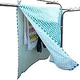アイクォーク 洗濯物干用カバーシート マジカルカバー ISK-M2100B