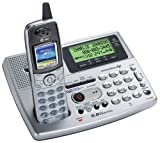 AT&T EP5995 - 5.8GHz Expandable Cordless Answering System with Dial-In-Base Speakerphone