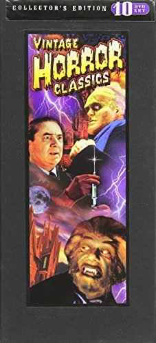 Vintage Horror Classics (Corpse Vanishes / Horror Maniacs / Sweeney Todd / Vampire Bat / Condemned to Love / Maniac / The Mad Monster / Dead Men Walk / The Ape / The Monster Maker) (10-DVD) by Bela Lugosi