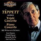 echange, troc  - Tippett : Triple Concerto - Concerto pour piano. Tirimo, Causs, Baillie.