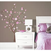 ROOMMATES RMK1555GM Spring Blossom Peel & Stick Giant Wall Decal by York Wallcoverings