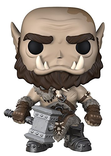 Funko POP Movies: Warcraft - Orgrim Action Figure