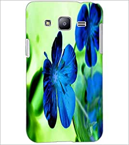 PrintDhaba Flower D-2436 Back Case Cover for SAMSUNG GALAXY J2 (Multi-Coloured)