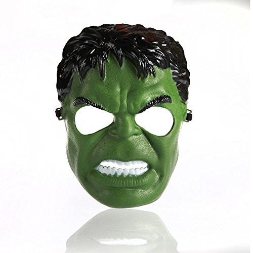 [New Incredible Hulk Green Giant Man Cartoon Mask Halloween Masks Free & Drop Shipping Adult children OK Halloween Party Mask 1] (Incredible Hulk Costume Ideas)