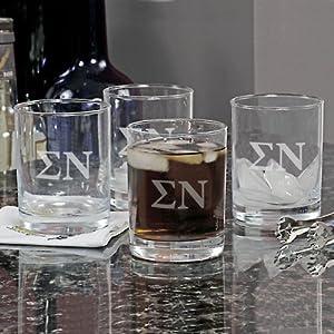 Greek Drinking Glass (Set of 4)