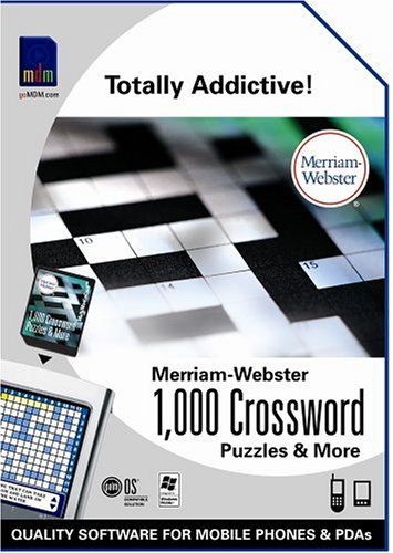 Merriam-Webster 1000 Crossword Puzzles & More (P10933U) (Crossword Puzzle Software compare prices)