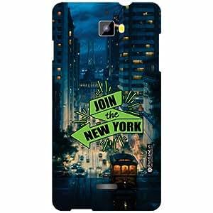 Micromax Canvas Nitro A311 Back Cover - Silicon New York Designer Cases