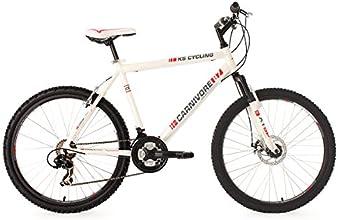 KS Cycling Carnivore VTT semi rigide Blanc 26''/52 cm