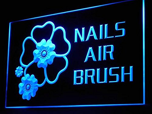C B Signs Beauty Care Nails Air Brush Led Sign Neon Light Sign Display