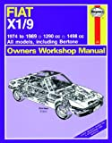 Haynes Manual for Fiat X1/9 (74 - 89) up to G including an AA Microfibre Mitt