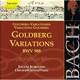 Goldberg Variations, BWV 988: Variation 19. a 1 Clav.