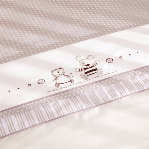 Time To Play Cot Bed Two pack Sheets set