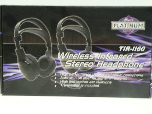 Tecvox Tir-1160 Wireless Infared Stereo Headphones (Pair)