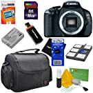 Canon EOS Rebel T3i 18 MP CMOS APS-C Sensor DIGIC 4 Image Processor Full-HD Movie Mode Digital SLR Camera + 8pc Bundle 16GB Accessory Kit w/ HeroFiber® Ultra Gentle Cleaning Cloth