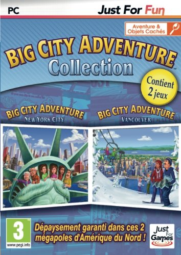 Big City Adventure New-York + Vancouver - French only - Standard Edition