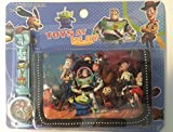 Toy Story 3 movie Watch wristwatch and Purse Wallet Set For Children ~ BUZZ Lightyear Woody T-REX and Horse (Bullseye) Alien Jessie all together