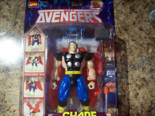 The Avengers Animated Series Thor Shape Shifters Action Figure (Iron Man Action Figure )