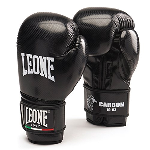 Leone 1947 Carbon Guantoni, Nero, 10 Oz