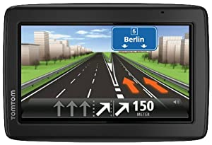 TomTom Start 25 Europe Traffic Navigationssystem(13 cm (5 Zoll) Display, TMC, Fahrspur- & Parkassistent, IQ Routes, Favoriten, Europa 45)