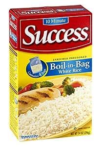 Amazon.com : Success Rice, 10 Minute, Boil-in-Bag, Natural