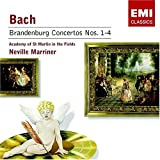 Bach: Brandenburg Concertos No. 1-4; Neville Marriner; Academy of St. Martin in the Fields ~ Johann Sebastian Bach