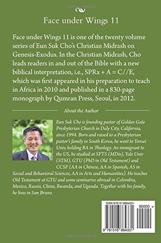 Face under Wings 11: Volume 11 (Christian Midrash on Genesis-Exodus)