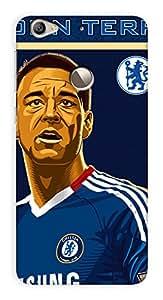 Chelsea Football Club Design - LeEco (LeTV) Le 1s Mobile Hard Case Back Cover - Printed Designer Cover for LeEco (LeTV) Le 1s - LE1SCFCB132