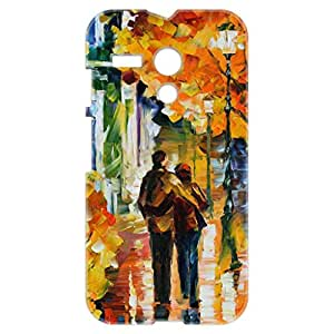 a AND b Designer Printed Mobile Back Cover / Back Case For Motorola Moto G (Moto_G_3D_1622)