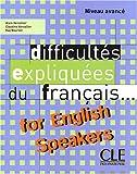 echange, troc Vercollier - Difficultés expliquées du français for english speakers