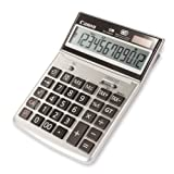 Canon Office Products TS-1200TG Business Calculator (Color: Silver, Tamaño: 5 15/64 x 7 13/32)