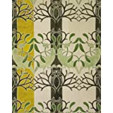 Birds and Mistletoe Wallpaper, by C.F.A. Voysey (V&A Custom Print)