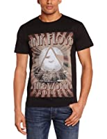 Plastic Head Men's Pink Floyd Knebworth 1975 Short Sleeve T-Shirt