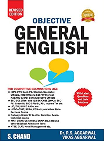 Review of Objective General English by RS Aggarwal and Vikas Aggarwal, Buy