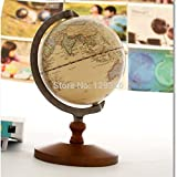 5.5 en Vintage mondial de référence Globe travail à domicile Décor mariage Décoration