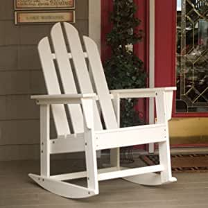... Island Plastic Adirondack Rocking Chair On Sale : Patio, Lawn & Garden