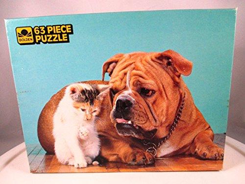 1985 Golden Little Charmers 63 Piece Puzzle - Tough & Tender - 1