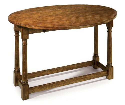 Buy low price lane country living drop leaf sofa table for Low sofa table