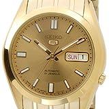 [セイコー]SEIKO SNKE92J1 セイコー5/セイコーファイブ 自動巻き ゴールド メンズ腕時計 日本製 [逆輸入品]