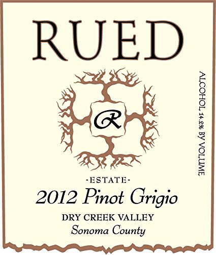 2012 Rued Pinot Grigio 750 Ml