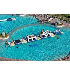 Parc aquatique gonflable challenge track 1 Aquaglide